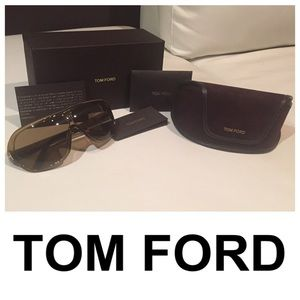 Tom Ford Designer Aviator Sunglasses